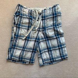 Abercrombie & Fitch Plaid Shorts